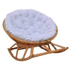 Rocking Lounge Chair Design Ideas Papasan Outdoorindoor Wicker Rocker Lounge Chair Ideas For