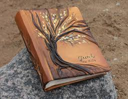 leather photo albums leather photo album 10 x 7 1 2 with tree for 200 photos