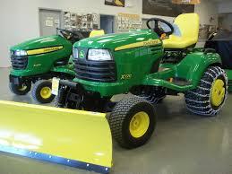 john deere garden tractor with bulldozer blade john deere