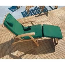 Teak Deck Chairs Teak Steamer Chair With Free Cushion