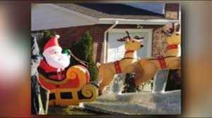 beloved broncos bench christmas decorations stolen from woman