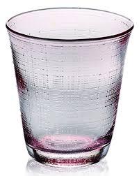 bicchieri ivv ivv everyday denim set 6 bicchieri acqua in vetro rosa it