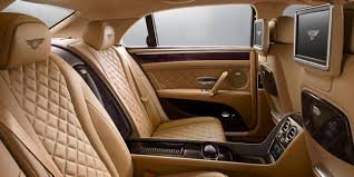 bentley interior 2016 bentley flying spur w12 khamun across rear cabin cars bentley