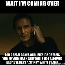 Im White Meme - wait i m coming over for cream cakes and jelly ice creams yummy and