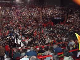 si e du parti communiste fran is file meeting à bercy du parti communiste français pour la