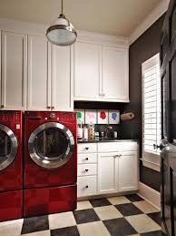 laundry in bathroom ideas beautiful and efficient laundry room designs hgtv