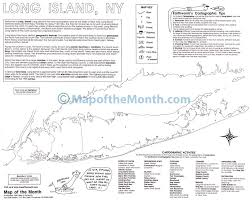 Long Island New York Map by Long Island Ny Map Maps For The Classroom
