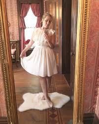 ballerina ootd ivory dress from banana republic blush ballet