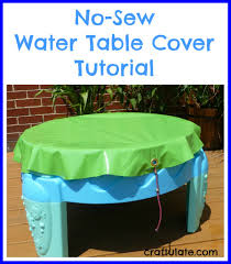 water table with cover no sew water table cover tutorial water tables table covers and