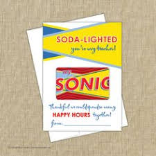 sonic gift cards appreciation free sonic gift card printable
