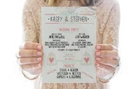 wedding day programs the top 10 best blogs on wedding programs
