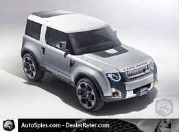 range rover defender 2018 the new land rover defender will be released in 2018 autospies