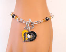 penguin bracelet etsy
