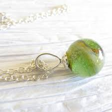 cremation ashes glass cremation ashes jewelry simple sterling silver