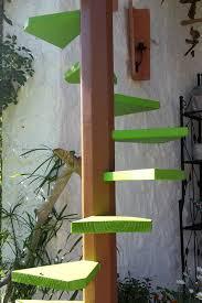 katzenleiter balkon katzenleiter als wendeltreppe tischlern lesergalerie holzwerken