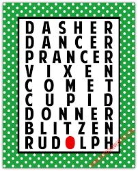 stayathomeartist com reindeer names christmas printable