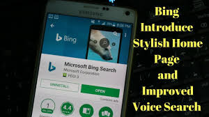 voice search app for android app for android new home page redesign voice search