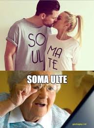funny meme of the day ft old lady vs two lovers gap ba gap