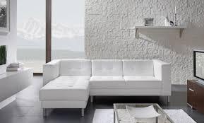 canapé blanc d angle canapé d angle gauche capitonné rossa blanc