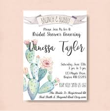 chagne brunch invitations succulents bridal shower brunch invitation brunch and bubbly