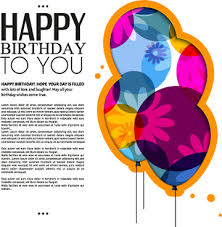 happy birthday greeting cards free vector download 15 101 free