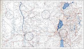 Map Of Rwanda Rwanda Topographic Map Topographic Map
