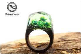buy wood rings images Buy new resin magic wooden rings for women jpg