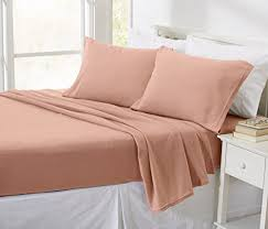 soft sheets oxford collection super soft polar fleece sheet set cozy plush