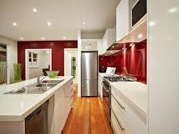 galley kitchen design ideas modern galley kitchen design using stainless steel kitchen photo
