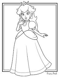 coloring pages of mario characters jimbo u0027s coloring pages princess peach coloring page mario