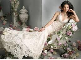 dream wedding place retro taste lace wedding dresses