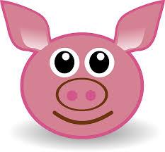 free clip art of cute pig clipart 1019 best pig cartoon face