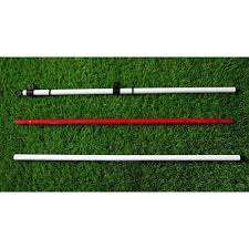 set of 2 backyard practice golf hole pole cup flag stick putting