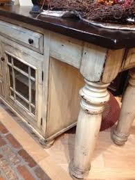 distressed island kitchen kitchen island painted conversion varnish with shader and glaze