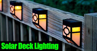 solar powered deck post lights landscape and deck solar post lighting all automatic with regard to