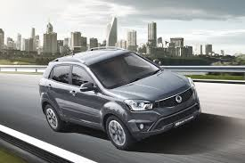 ssangyong korando ssangyong reveals korando elx u0027red u0027 special edition for the uk