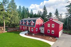 find modern country in a new 1 45m red barn house curbed seattle