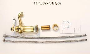 Gold Bathroom Faucets Mancel Gold Bathroom Faucet Basin Sink Water Tap Mixer Wash Taps