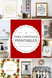 15 free christmas printables uniquely women