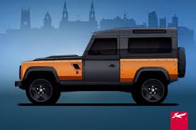 kahn land rover defender kahn design working on bespoke aston martin and land rover