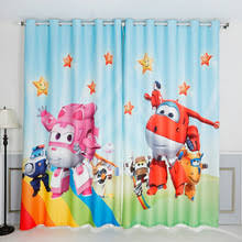 Rainbow Curtains Childrens Popular Robot Curtains Buy Cheap Robot Curtains Lots From China