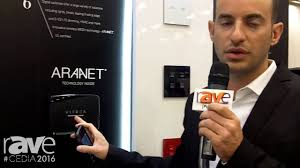 Home Technologies by Cedia 2016 Vitrea Smart Home Technologies Shows V Touch Pro