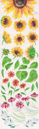 Cute Card With Watercolor Flowers With Hand Draw Sing I Love Best 25 Sunflower Illustration Ideas On Pinterest Sunflower