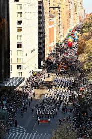 davis high students march in macy s thanksgiving day parade the