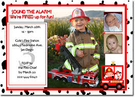 fireman birthday invitations candy wrappers thank you cards