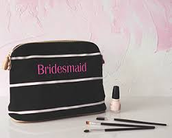 black and white striped gift bags bridesmaid gifts personalized bridesmaids gifts ideas