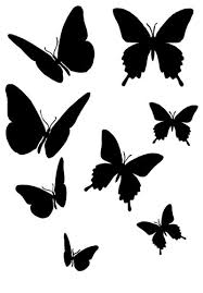 stencil patterns airbrush stencil templates butterfly stencils