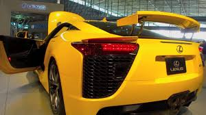 lexus lfa wallpaper yellow lexus lfa yellow fast car youtube