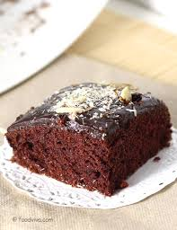 chocolate cake recipe eggless with step by step photos vegan