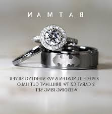 batman wedding rings wedding batman wedding rings for him and ring sets elevated